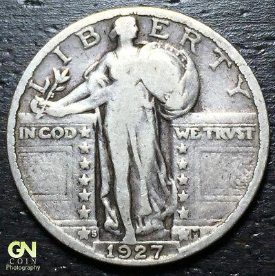 1927 S Standing Liberty Quarter  --  MAKE US AN OFFER!  #R4083