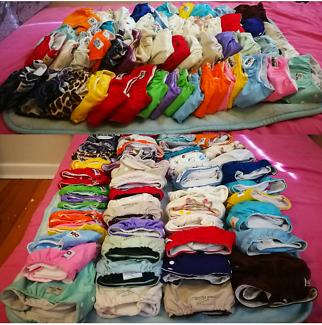 53 Cloth Nappies