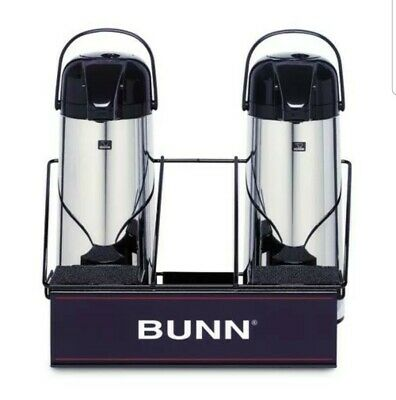 2 Airpot Serving Rack Bunn For Coffee Machine Maker Apr2 W Sponge Trays 311035