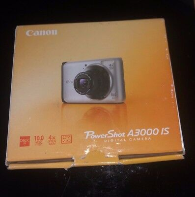 Used, Canon PowerShot A3000 IS 10.0MP Digital Camera - Silver for sale  Shipping to Canada