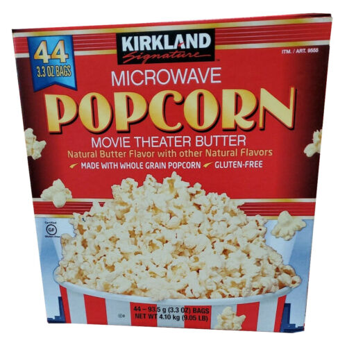 Kirkland Microwave Popcorn 3.3Oz Bags, 44 Count