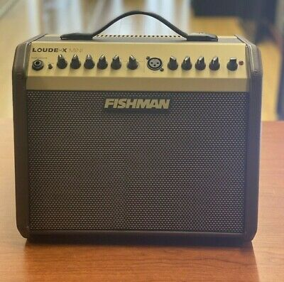 Fishman Loudbox Mini Bluetooth 60-Watt Acoustic Guitar Amplifier