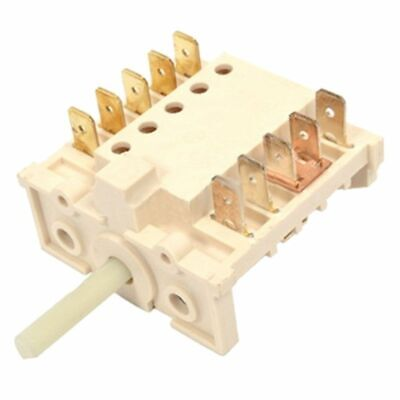 Delonghi Genuino Horno Cocina Interruptor Selector 6104VE.W DFS090DO EDB475ST