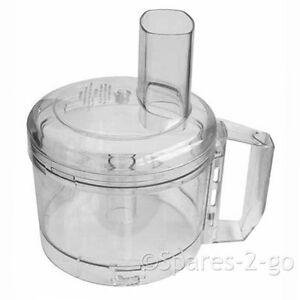Magimix 4100 Food Processor Shatterproof Bowl Jug Clear Lid 19312 Cuisine System