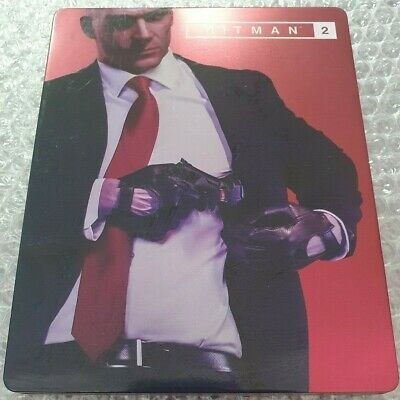 Hitman 2 - Limited Edition Steelbook - G2 - Ultra Rare - Ps4 - No Game for sale  Shipping to Nigeria