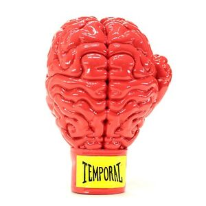 Original Red Boxing Brain Sculpture by Ron English Popaganda resin statue NEW