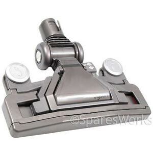 dyson dc23 vacuum low profile floor tool contact head allergy animal red grey ebay. Black Bedroom Furniture Sets. Home Design Ideas