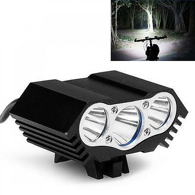 10000Lm 3 x CREE T6 LED 4 Modes Bicycle Lamp Bike Light Cycling Headlight Torch
