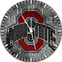 Ohio State Buckeyes Frameless Borderless Wall Clock Nice For Gifts or Decor X50