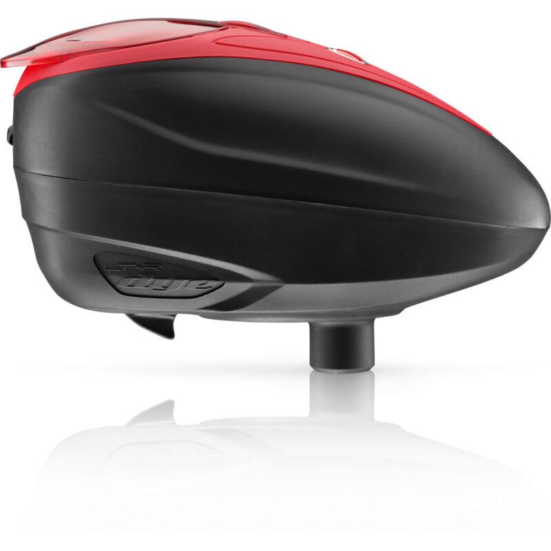 Dye LT-R Loader / Hopper - Black / Red - Paintball