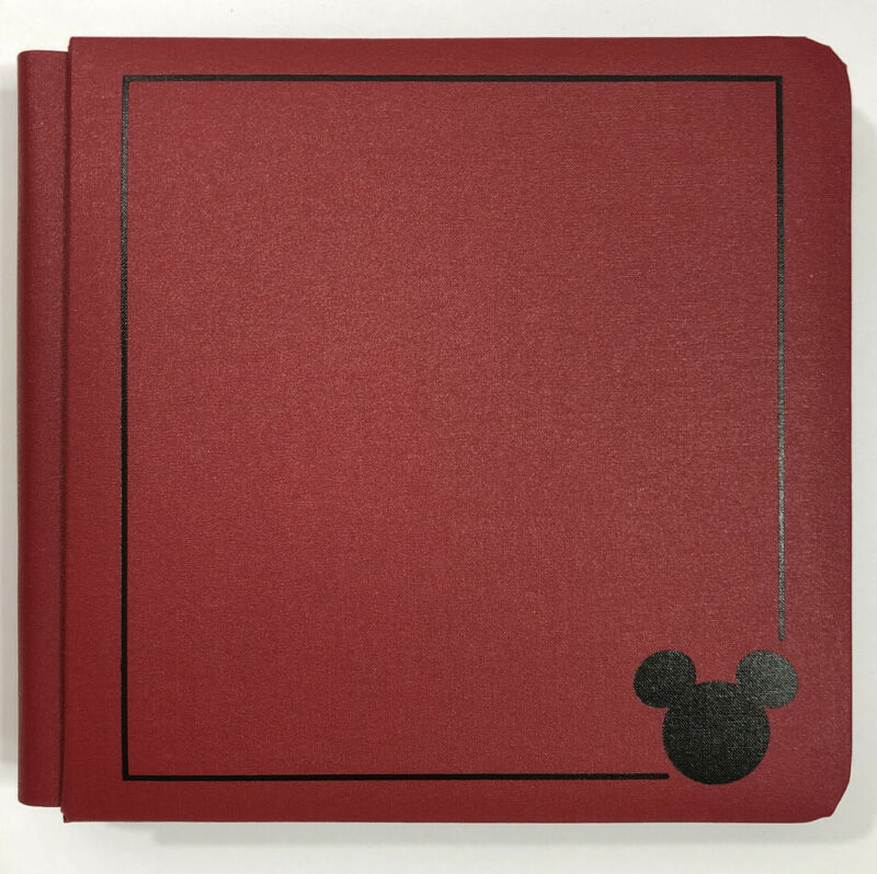 NEW Creative Memories 7 x 7 Disney Mickey Mouse Scrapbook Album + 12 White Pages