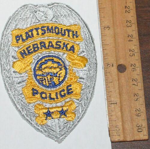 PLATTSMOUTH POLICE Nebraska NE PD patch