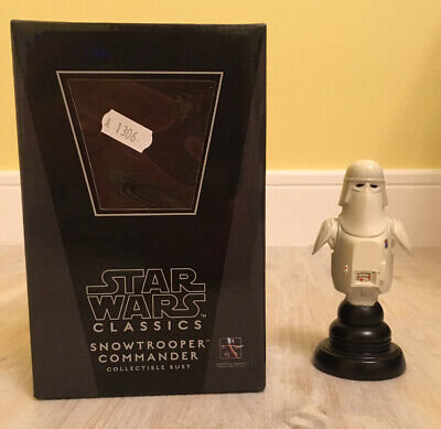 Star Wars Gentle Giant Snowtrooper Commander Limited Edition Classics Bust MIB