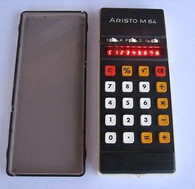 Rare vintage ARISTO M64 Calculator - version 1