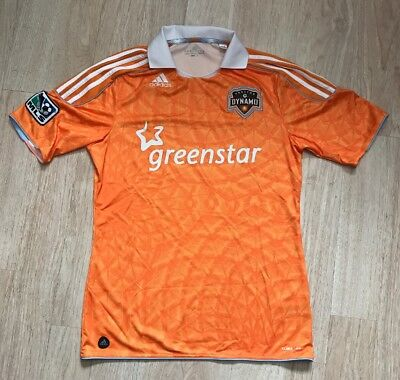 VINTAGE ADIDAS HOUSTON DYNAMO MLS SOCCER TEAM JERSEY SIZE MEDIUM 36aa432b3