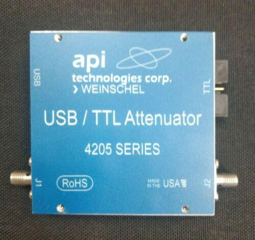 API Weinschel 4205-63.5 Programmable Solid State Attenuator