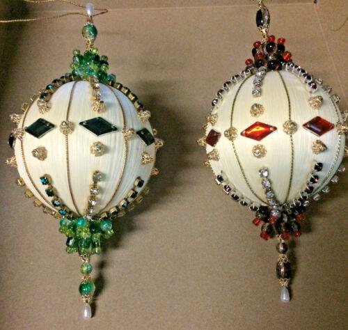 Diamond Christmas Ornament Set