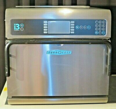 Turbo Chef I3 High Speed Rapid Cook Microwave Convection Oven 208240v 1ph
