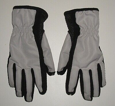 ISOTONER 56612 SMARTOUCH TOUCH SCREEN TECH GRAY DRIVING GLOVES WOMEN'S XS SMALL