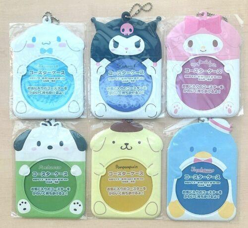Sanrio Key ring portable coasters/Kitty/Melody/Kuromi/Cinnamoroll