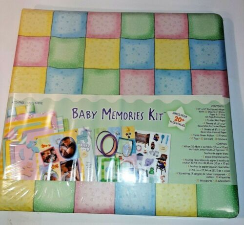 baby memories kit 12 x 12 baby album kit scrapbook