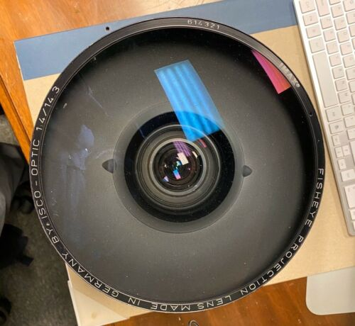 ISCO Wide Angle 14.3mm Fisheye large film format 65/70mm Imax Projection Lens