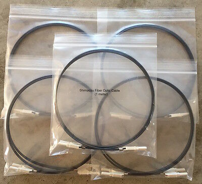 Five Fiber Optic Cables For Shimadzu Hplc Systems 070-92025-51