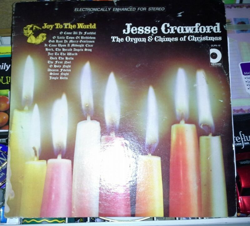 Jesse Crawford Design LP DLPX-16 The Organ & Chimes of Christmas