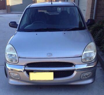 2000 Daihatsu Sirion GTVi Wallsend Newcastle Area Preview