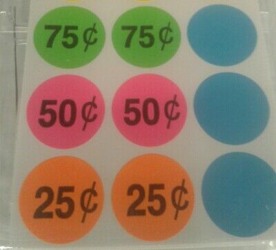 10 Garage Sale Price Labels