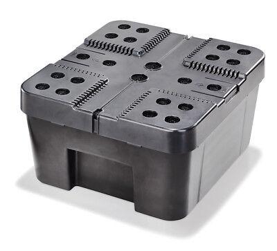 Filterbox XL für Solar Teichpumpen Teichfilter Gartenteich Pumpe esotec 101732