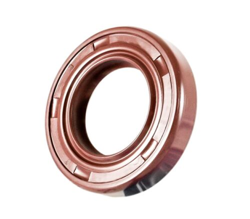 EAI Viton Oil Shaft Seal 25x38x7mm Grease Dbl Lip w/ Stainless Steel Spring