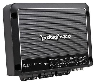 Rockford Fosgate R400-4D 400 Watt RMS Class D Full Range 4 Channel Car Amplifier