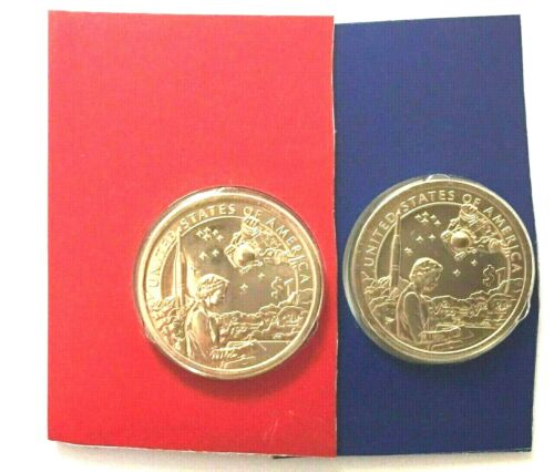 2019 P and D Sacagawea  Dollars  from Uncirculated Sets  2 coins
