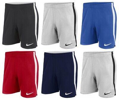 Nike Kids Boys Shorts Hertha II Sports Gym Training Running Football Short Size