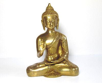 Dekoration ,SONDERANGEBOT ,Statue Buddha Messing aus Indien Messing ()