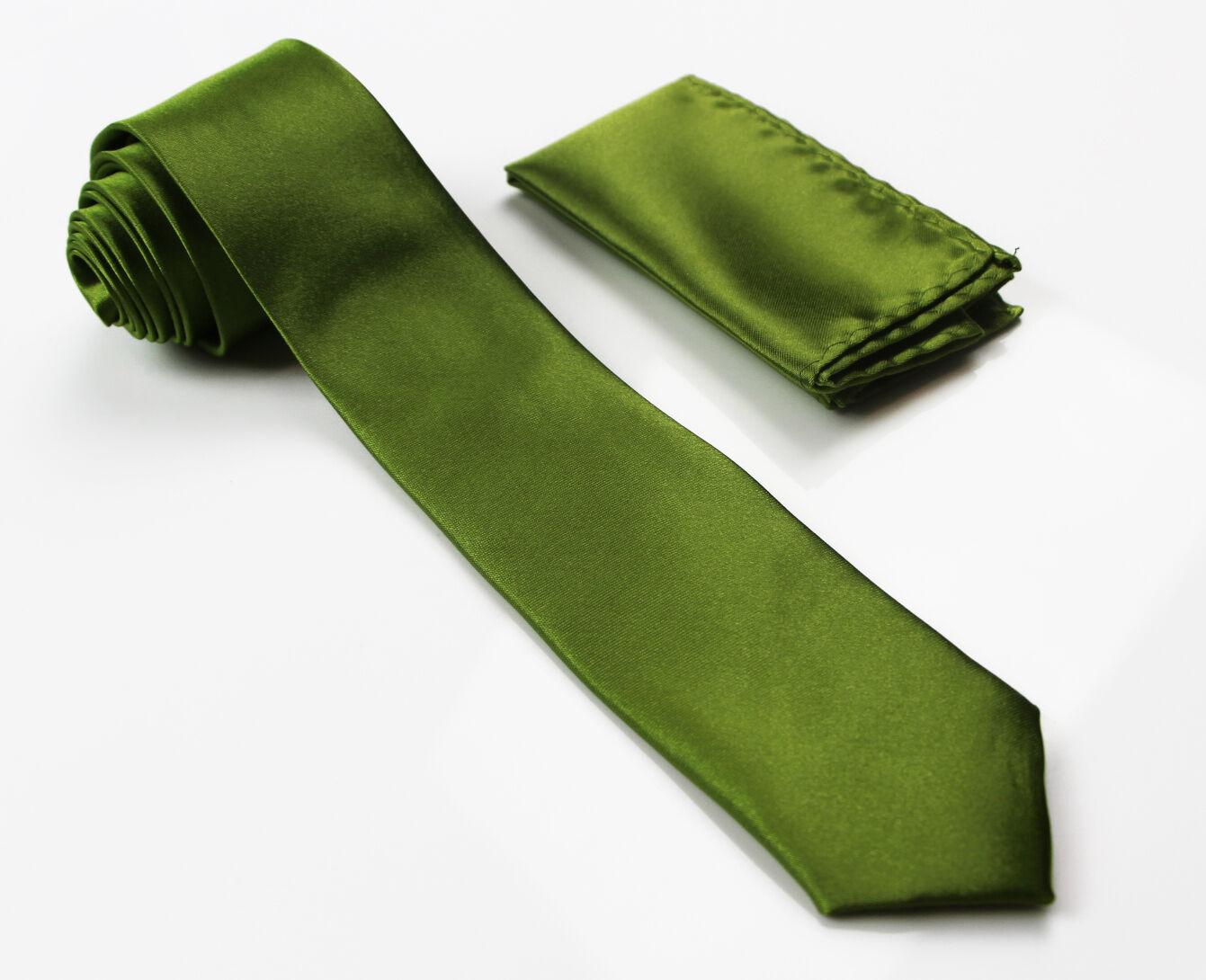 LIGHT GREEN MATCHING TIE SET 2 PIECE POCKET SQUARE HANKY /& FORMAL SKINNY NECKTIE