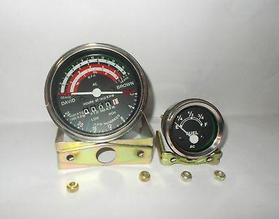 David Brown Tractor Tachometer Fuel Gauge 88088599099599612101212