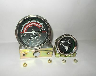 David Brown Tractor Tachometer Fuel Gauge 88088599099599612101212
