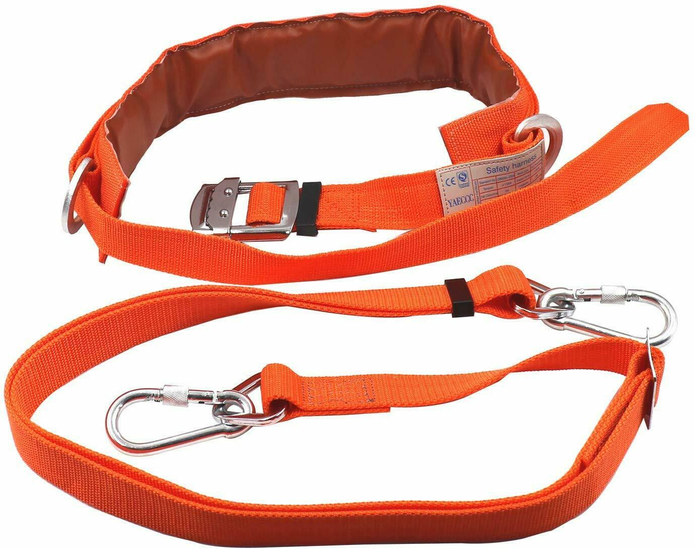 Details about  /Safety Harness Kits Safety Belt Safety Belt Outdoor Safety Strap Firefighters