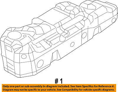 CHRYSLER OEM-Fuel Tank 68166431AC