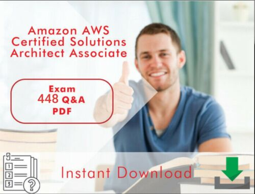AWS Amazon Certified Solutions Architect - Associate Practice Dump PDF