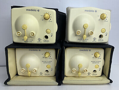 Lot Of 4 Medela Pump In Style Advanced Pump MOTORS Part Ships FREE!