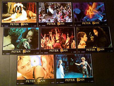 Lobby Card set~ PETER PAN ~2003 ~Jeremy Sumpter~Jason Isaacs~Rachel Hurd-Wood~CS