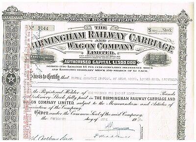 Birmingham Railway Carriage Wagon Co., 1950