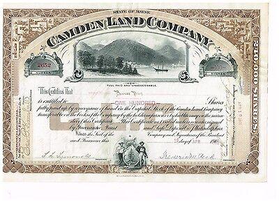 Camden Land Co., 1902, beautiful