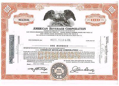 American Beverage Corp., 1960s, orange