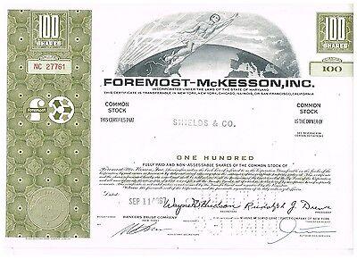 Foremost-McKesson, Inc., 1960s, olive