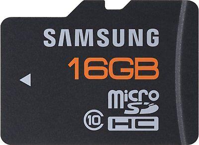 16GB Samsug Plus Class 10 microSD micro SD Karte / 16 G GB SDHC