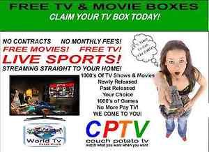 Free TV & Movie Boxes Claim your TV box today! Frankston Frankston Area Preview